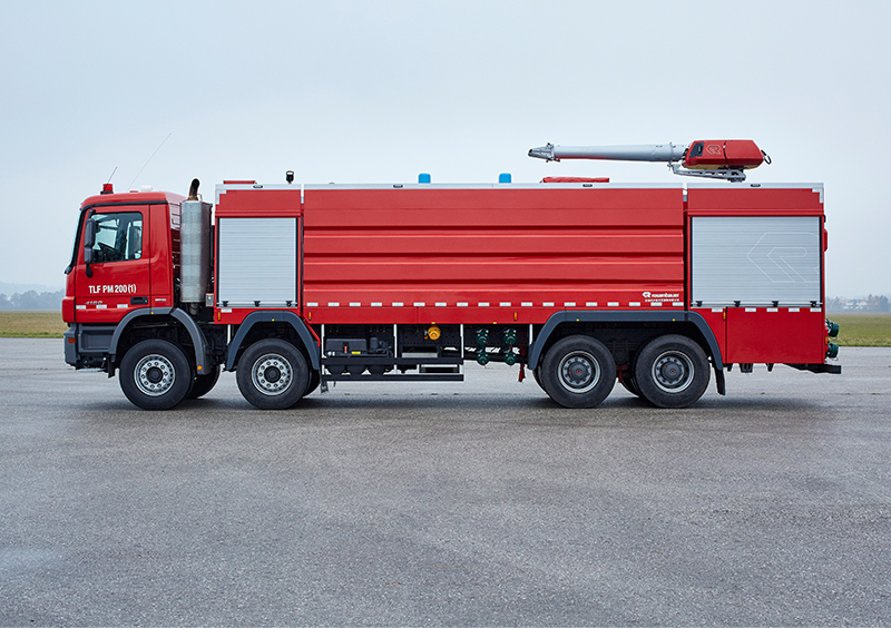 Industrial Fire Fighting Vehicles